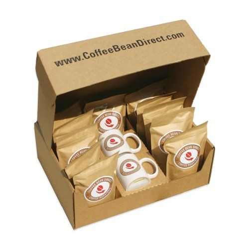 Coffee Bean Direct Assorted Whole Bean Coffee Sampler, 9-Pound Box - http://www.freeshippingcoffee.com/brands/coffee-bean-direct/coffee-bean-direct-assorted-whole-bean-coffee-sampler-9-pound-box/ - #CoffeeBeanDirect