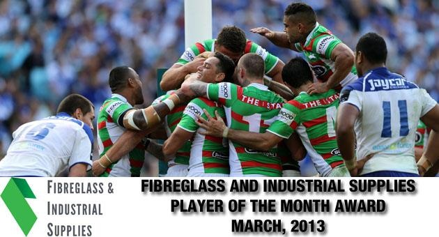 Voting Open for Fibreglass and Industrial Supplies Player of the Month – March 2013