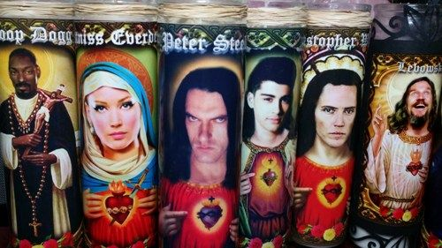 "Peter Steele Candle 8"" Rock Star Tribute Devotional Candle - Peter ..."