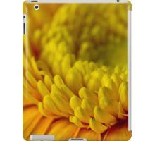iPad Case/Skin. #gerbera #yellowgerbera #yellowgerberaflower #gerberamacro #macro #sandrafoster #sandrafosterredbubble  #redbubble