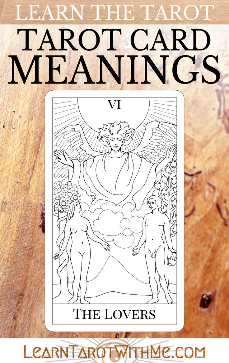 17 Best Images About Tarot Interpretations Combinatons On
