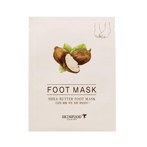Korean [SKINFOOD] Shea Butter Foot Mask 8ml*2「koreabuys.com」