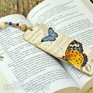 zakładki zakładka do książki-motyle, zakładka, do, książki, motyle