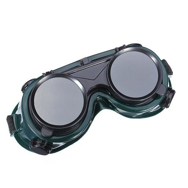 Dual Use Protective Welding Glasses Double Lens Welding Goggles
