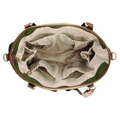 timi & leslie Tag-A-Long Tote Diaper Bag - Serengeti Green