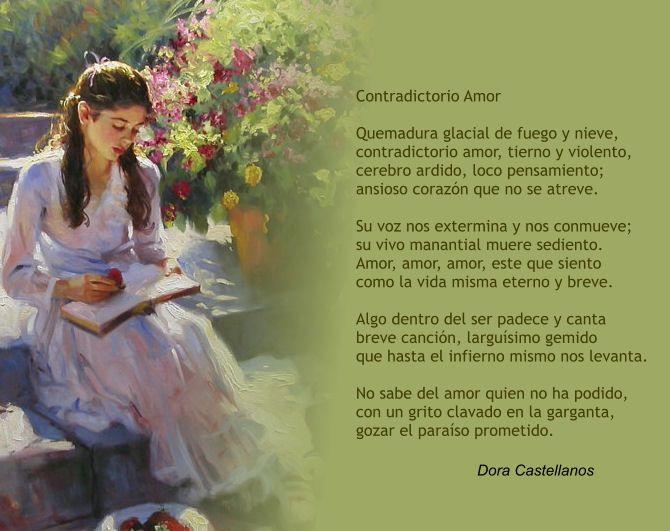 Soneto escrito por la poeta Colombiana Dora Castellanos.