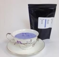 Teacup Candle. Lavender Infused.207  I am hand made with 100% SOY wax. My cup has been recycled / re-used / re-loved / re-newed / TEA-incarnated as a beautiful tea cup candle infused just for you. Included with me is a 50g bag of Tea