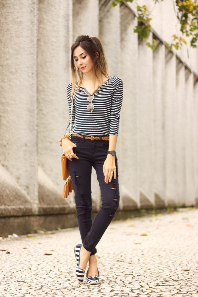 FashionCoolture 01.10.2015 look du jour MOfficer denim navy blue (1)