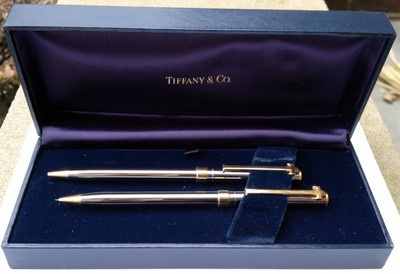 Tiffany and Co Pen and Pencil Set | eBay
