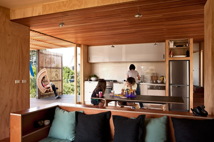 New Home Design: Outtakes: The Onemana Bach by SGA Architects and Unitec students