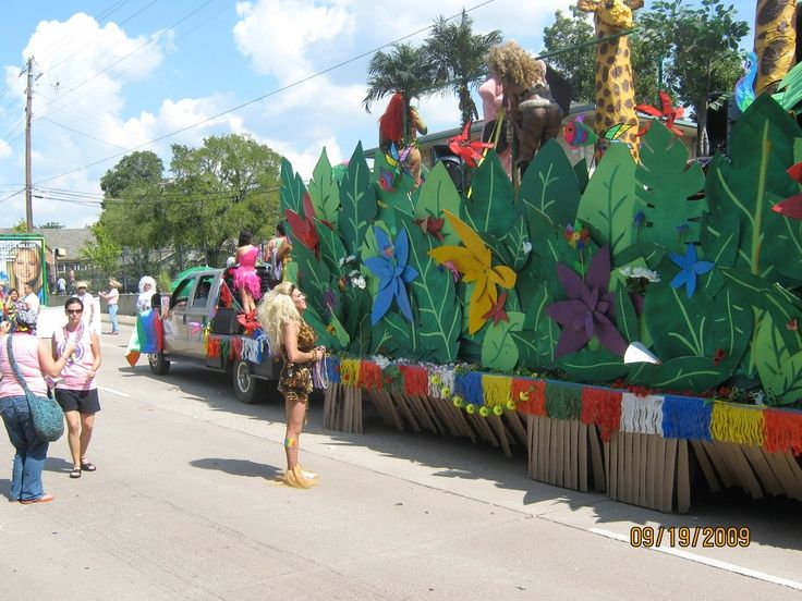 Vbs Parade Float Ideas Great Float From Dallas Texas