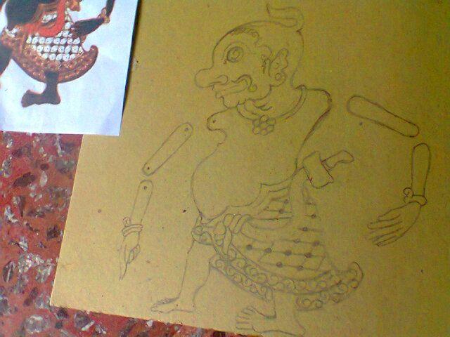 #wayang #sketch #pencil
