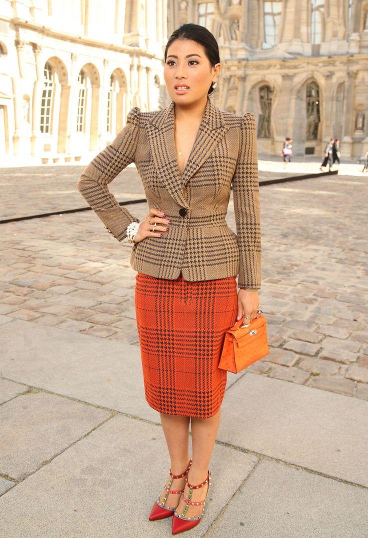 Princess Sirivannavari looked elegant at the Christian Dior show at Paris Fashion Week on September 26th.