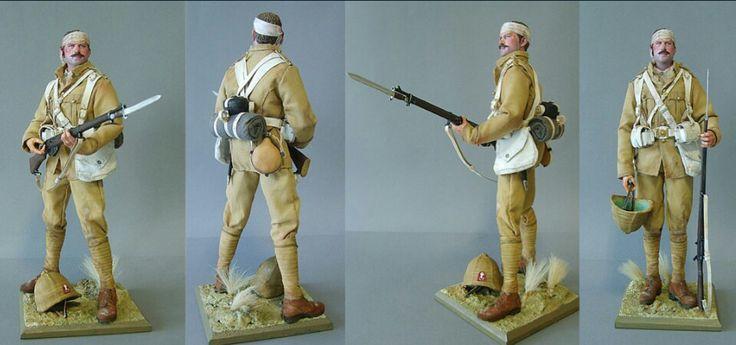 Lancashire Fusilier, Boer War, 1900