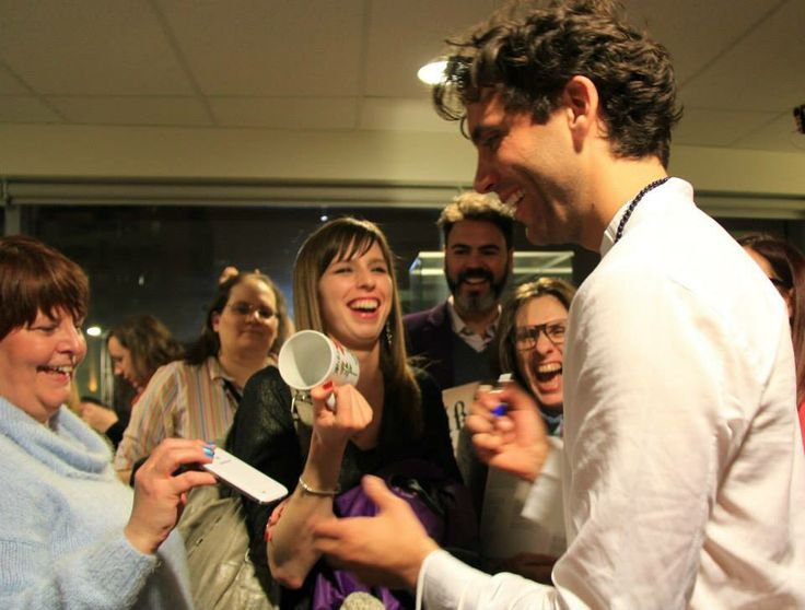 Mika after the OSM gig Feb 12 2015