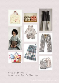 Free Japanese patterns