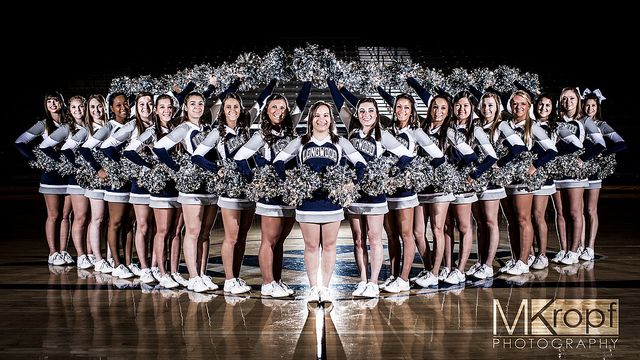 #Cheerleaders #Team #Portrait