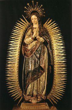 Gregorio Fernandez, Immaculate Conception, 17th C., La Redonda Logrono, Spain