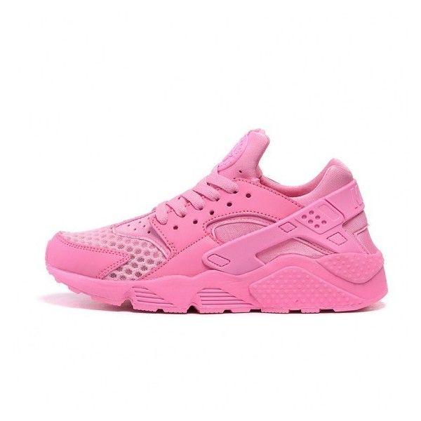 reputable site 0713d 2e4da NIKE AIR HUARACHE Classic 2015 Shoes Pink via Polyvore featuring shoes,  pink shoes, ...