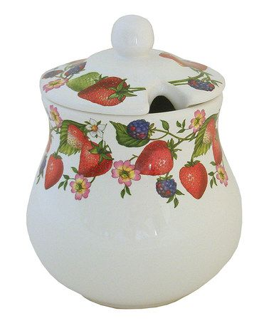 Take a look at this Strawberry Jam Jar by Abbiamo Tutto on #zulily today!