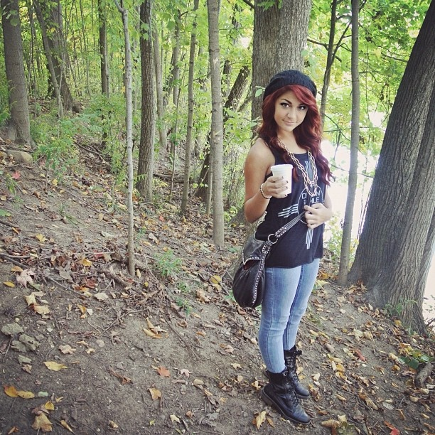 andrea russett. | Andrea Russet | Pinterest | Edgy Outfits ...