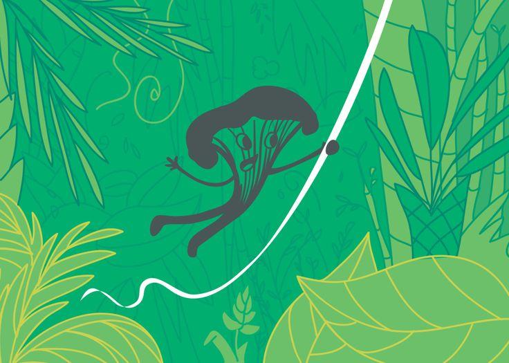 Partir à l'aventure et ne pas rentrer bredouille de sa chasse aux champignons ! À lire sur le blog.