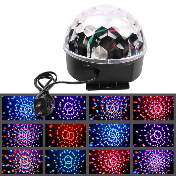 14.98$  Watch here - http://alit3p.shopchina.info/go.php?t=32738556223 - Voice Activated Stage Light Show Mini Disco Crystal Magic Ball Club KTV Wedding Show Car Pub Disco DJ Lighting 6 Color LED PML  #buyonlinewebsite