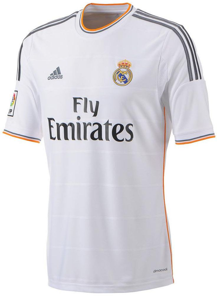 nice Real Madrid 2013 - 2014 Home Jersey ADIDAS official   Check more at http://harmonisproduction.com/real-madrid-2013-2014-home-jersey-adidas-official/