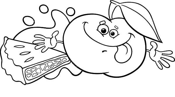 Smiling Apple For Apple Pie Coloring Pages Coloring Pages Bible Coloring Sheets Free Coloring Pages