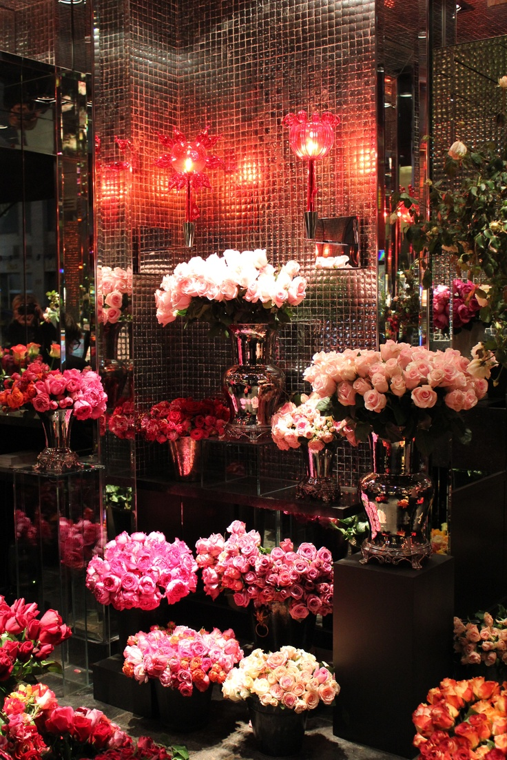 My new found love of roses came from the Hotel Costes Rose Shop in Paris.