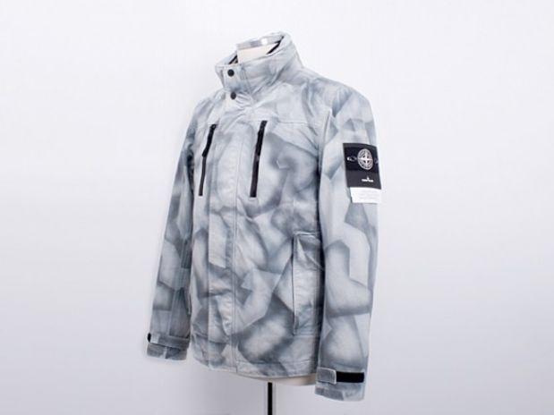 Stone Island Navy Soft Shell Coat