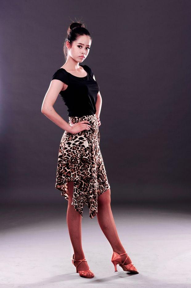Mais recente moda lace up saia de dança latina para mulheres / mulher / menina / senhora, Vogue irregular tango ballroom desempenho traje usa em Dança de Salão de Novidade e de uso especial no AliExpress.com   Alibaba Group