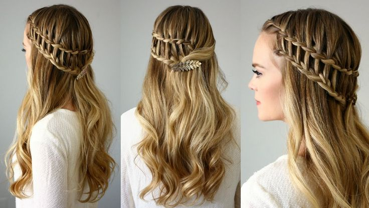 Ladder Braid Tutorial | 25 Gorgeous Ladder Braid Hairstyles    Ladder Braid Tutorial If you love hairstyles that are innovative and intricate, you've probably already mastered techniques like Dutch, fishtail, and waterfall braids. For the next level of braiding sophistication, ladder braids are fun and unique, and you'll get a ton of compliments whenever ... http://nicestyles.ca/beauty/hair/ladder-braid-tutorial-25-gorgeous-ladder-braid-hairstyles/