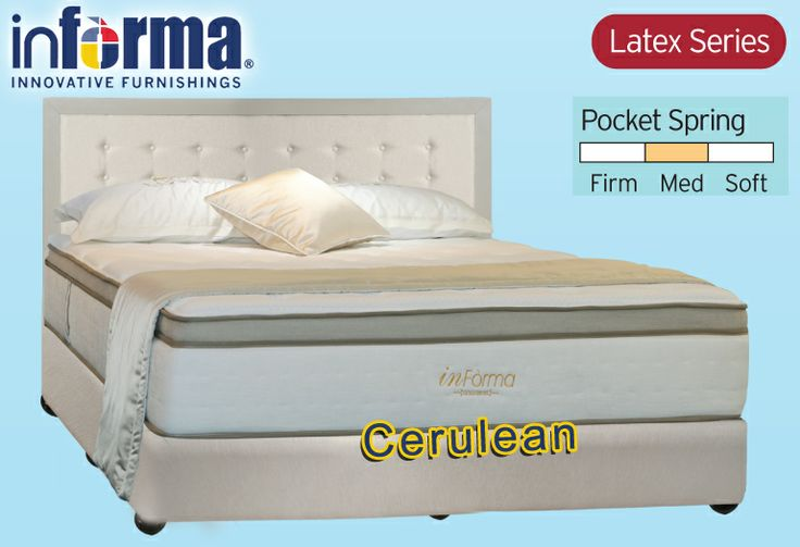 Cerulean mattress | informa.co.id