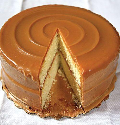 Famous Caramel Cake