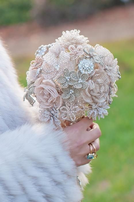 Hand beaded bouquet to keep forever!! whitneyalyssa.com