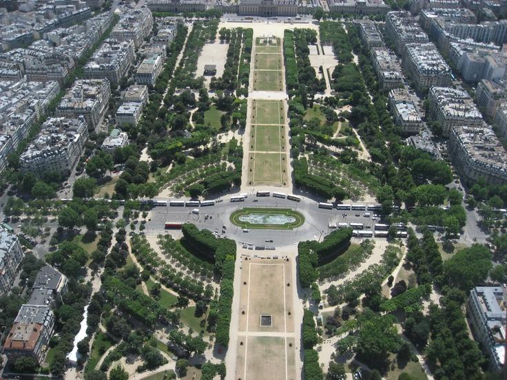 The nature in Paris