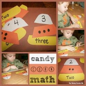 25 Candy Corn Projects to Brighten Your Day - Candy Corn Math Game