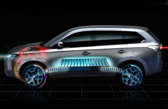 Mitsubishi Outlander Phev  Arriva la variante ibrida. Mitsubishi prosegue lo sviluppo nel campo delle tecnologie pulite ed efficienti, così per il mercato europeo presenta a Ginevra la nuova Outlander Phev, ibrida che affiancherà le già presenti varianti a benzina e gasolio del rinnovato...