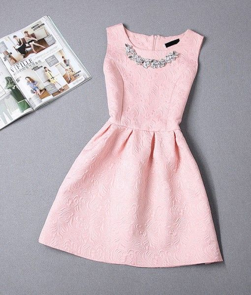 25  best ideas about Pink dress casual on Pinterest | Short party ...