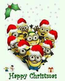Happy Christmas Minions