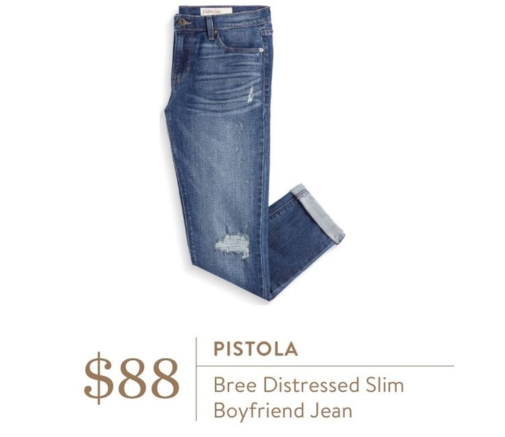 Stitch Fix Pistola Bree Distressed Slim Boyfriend Jean