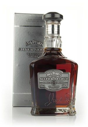 Jack Daniel's Silver Select - Master of Malt - A gorgeous Tennessee whiskey from Jack Daniel's, Silver Select is bottled at higher strength and the result is plenty of rich sweetness and complexity. Each barrel is aged in a different location within the warehouse for a better maturation.