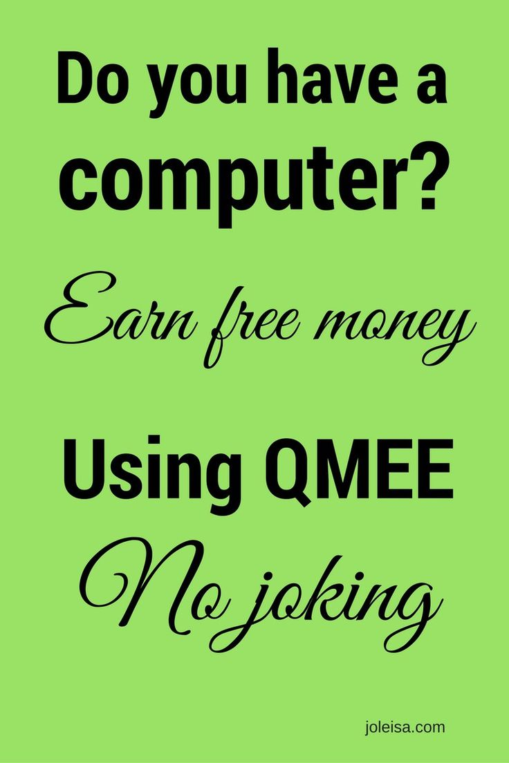Use extension QMEE to earn money while you shop or 'window shop' on your computer. The money is all yours to keep and you can earn more by referring others.