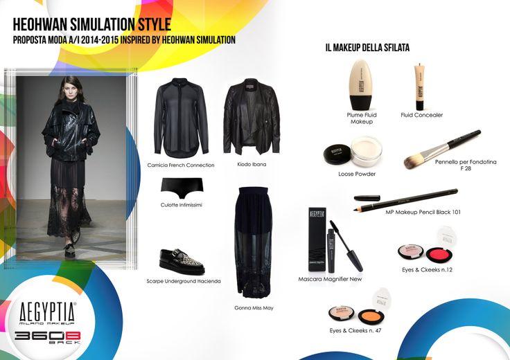 Proposta moda A/I 2014-2015 inspired by Heohwan Simulation