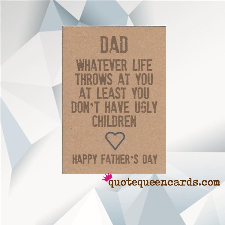 Excited to share the latest addition to my #etsy shop: FUNNY FATHERS Day Card, H...