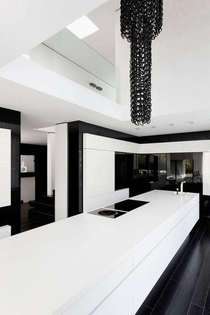 Black And White Modern Kitchen 100  Kitchen Floor Ideas With White Cabinets   Two Toned