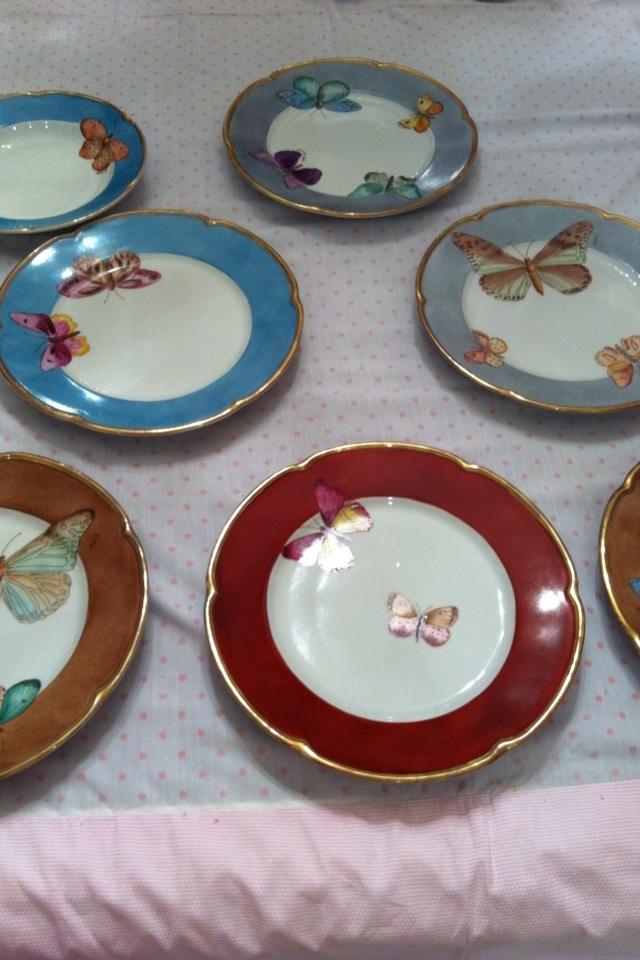 Butterflys  plate