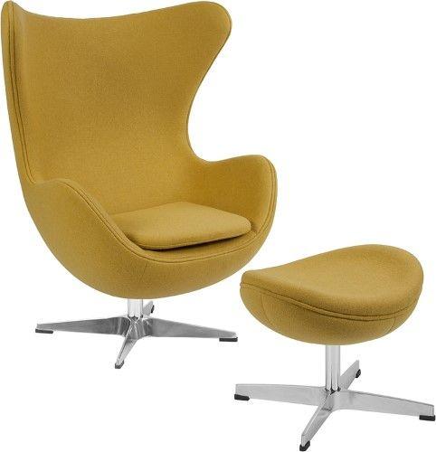 Flash Furniture Citron Wool Fabric Egg, Flash Furniture Dealers