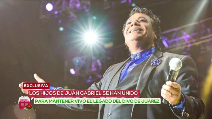 ¿La muerte de Juan Gabriel unió a sus hijos    Ventaneando